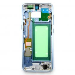 Middle frame for use with Samsung Galaxy S8 (Blue)