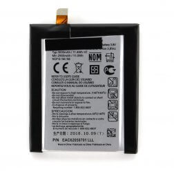 Battery for use with LG G2