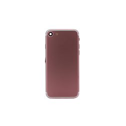 Back Housing for use with iPhone 7 w/small parts (Rose Gold)