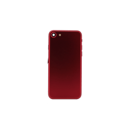 Back Housing for use with iPhone 7 w/ small parts (Red)