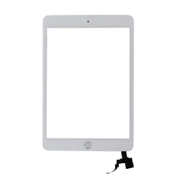 Platinum Plus Digitizer (Full Assembly) for use with iPad Mini 3 (White)