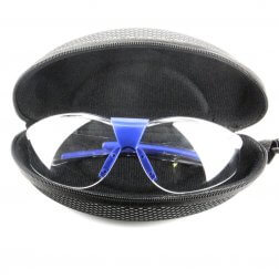 Safety Glasses - Wraparound, Frameless,non-slip and anti-scratch