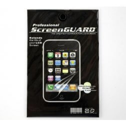 Screen Guard Screen Protector for use with iPod Gen 2 & Gen 3 Touch