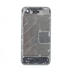 Mid Frame, Bezel, Sim Tray, Buttons, and Screws for use with iPhone 4S