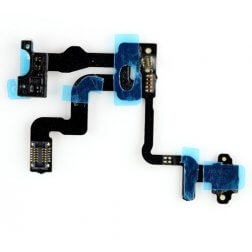 Power Button, Proximity, and Ambient Light Sensor for use with iPhone 4S