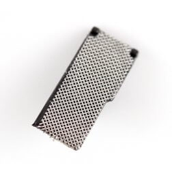 MIC anti-dust mesh with bracket for use with iPhone 4S