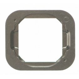 Metal Ring for use with the iPhone 5S, iPhone SE, Silver