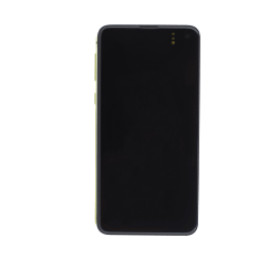 OLED/Digitizer assembly (with frame) for use with Samsung S10e (Yellow)