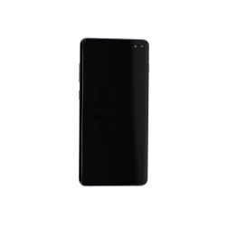 OLED/Digitizer assembly (with frame) for use with Samsung Galaxy S10 Plus (Black)