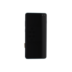 OLED/Digitizer assembly (with frame) for use with Samsung Galaxy S10 Plus (Green)