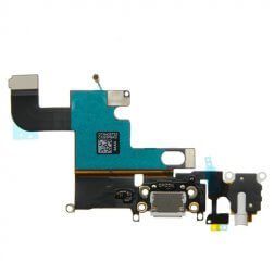 "Charging Dock/Headphone Jack Flex Cable for use with the iPhone 6 (4.7""), White"
