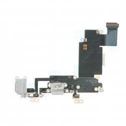 "Charging Dock/Headphone Jack Flex Cable for use with iPhone 6S Plus (5.5""), Dark Gray"