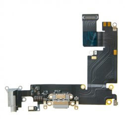 "Charging Dock/Headphone Jack Flex Cable for use with the iPhone 6 Plus (5.5""), Dark Gray"