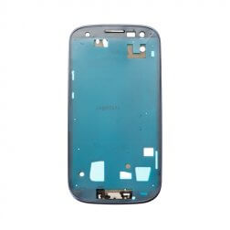 Front Housing for use with Samsung Galaxy S3 AT&T/T-Mobile I747/T999 Pebble Blue
