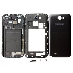 Full Housing for use with Samsung Galaxy Note 2 International N7100