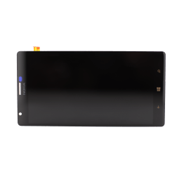 LCD and Digitizer Assembly for use with Nokia 1520, Black, no Frame