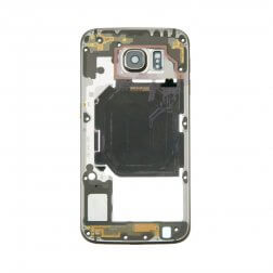 Back Housing for use with Samsung Galaxy S6 G920, with Small Parts, Gold