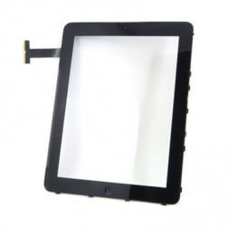 Complete Front Glass, Digitizer and Frame Assembly for use with iPad 1 WiFi