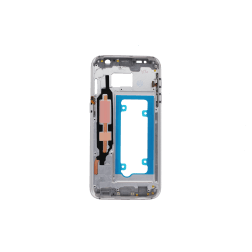 Bezel/Midframe (all carriers) for use with Samsung Galaxy S7 (White)