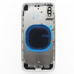 Back cover assembly for use with iPhone X (White)