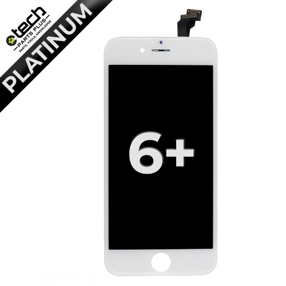 Platinum LCD Assembly for use with iPhone 6 Plus (White)