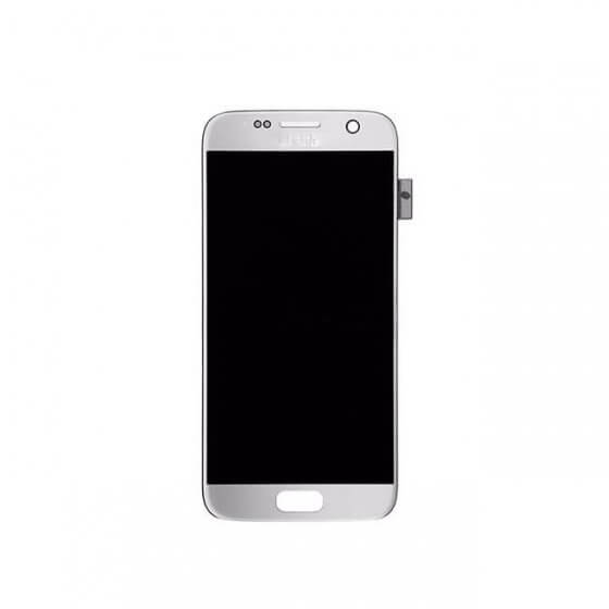 LCD & Digitizer Assembly for use with Samsung Galaxy S7 SM-G930, Silver
