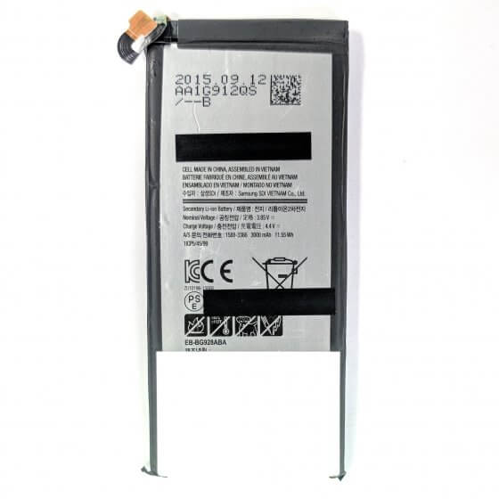 Battery for use with Galaxy S6 Edge Plus