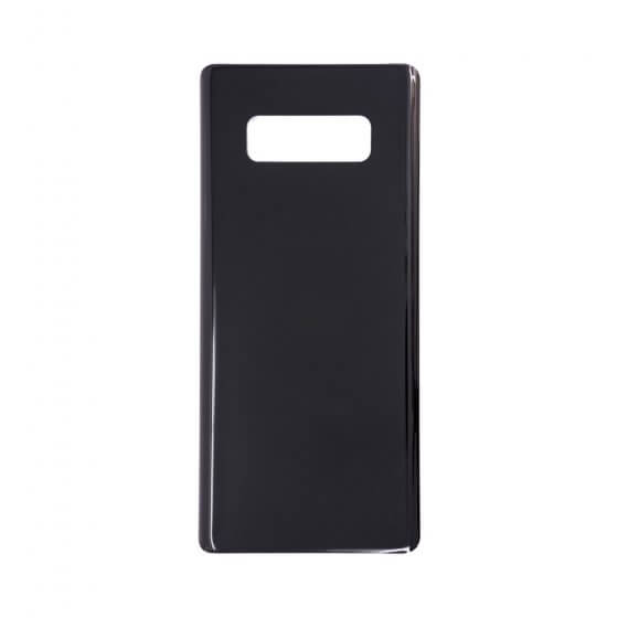 Rear Glass for use with Samsung Note 8 Midnight Black