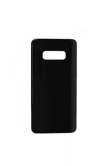 Back Glass Cover for use with Samsung Galaxy S10 (Black)