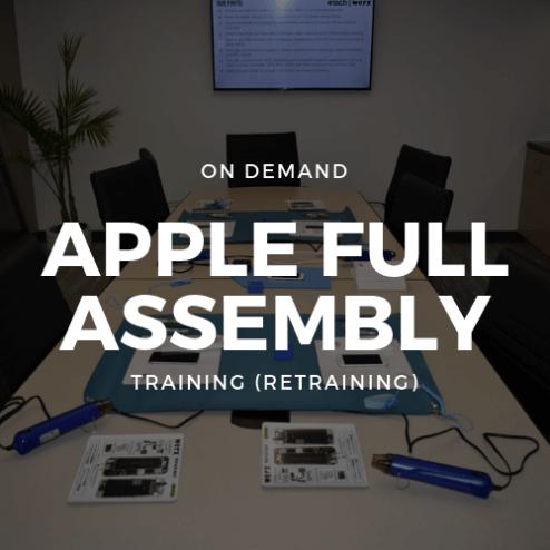 On Demand Apple Full Assembly Training (Retraining)