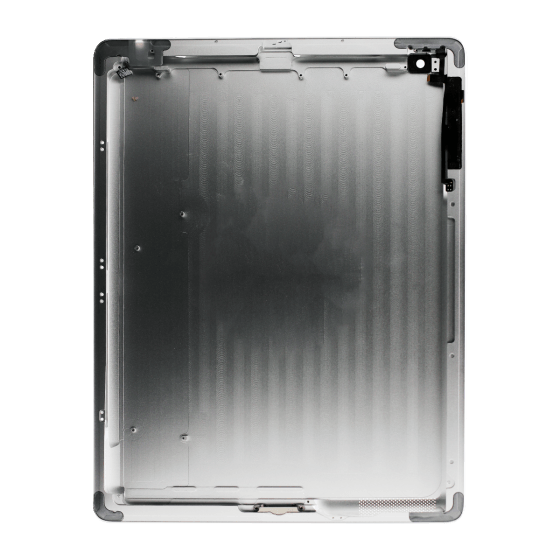 iPad 4th Gen Aluminum Back Casing Silver (w/small parts)