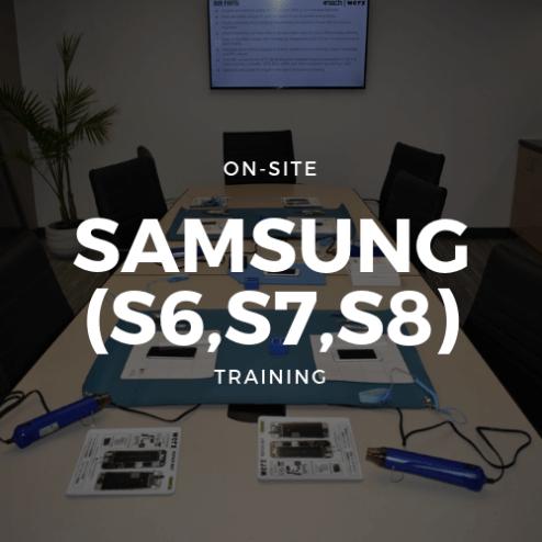 Samsung (S6,S7,S8), Training