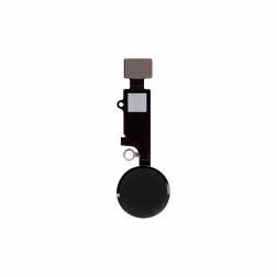 Home Button Flex Cable Assembly (Black)  for use with iPhone 8 Plus