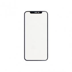 Glass Lens - Black for use with iPhone X