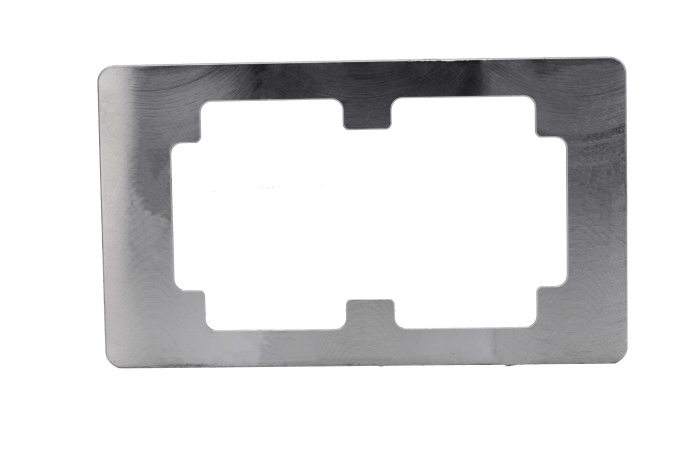 Glass Only Repair Alignment Metal Mold for use with Samsung Galaxy Note 4 N910