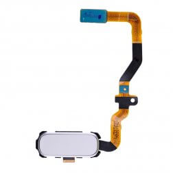 Home Button Flex Cable Black for use with Samsung Galaxy S7 SM-G930, White