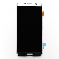 LCD and Digitizer Assembly for use with Samsung Galaxy S7 Edge (Silver)
