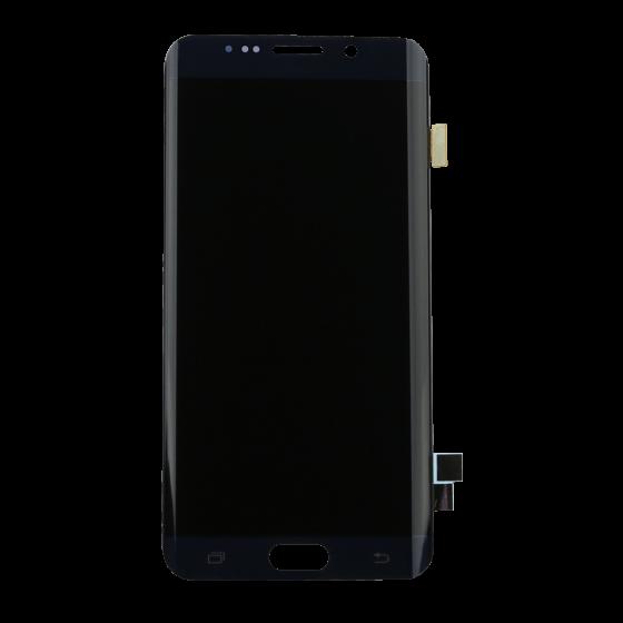 S6 Edge Plus LED & Digitizer Assembly Black without frame