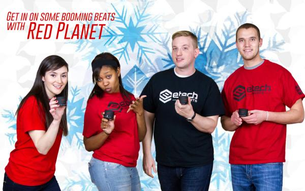 Red Tape Winners and Red Planet Sounds Giveaway
