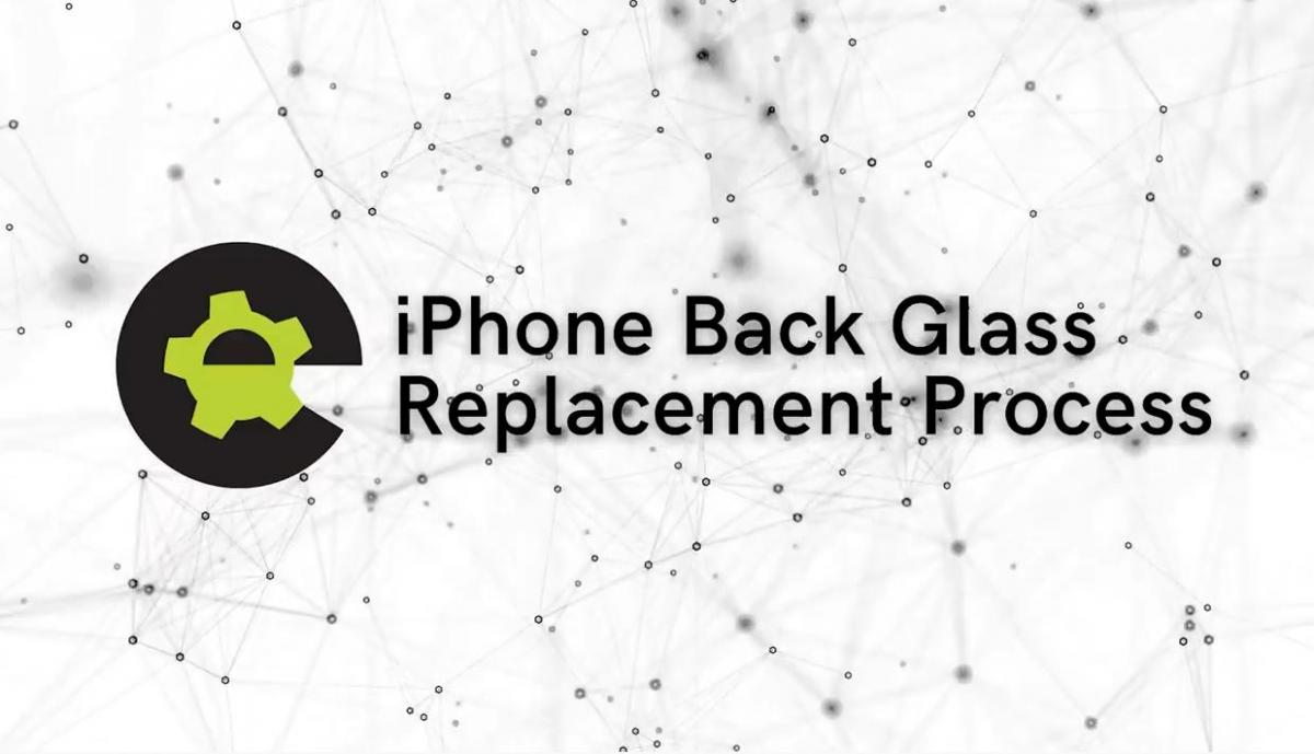How To Replace Back Glass On An iPhone