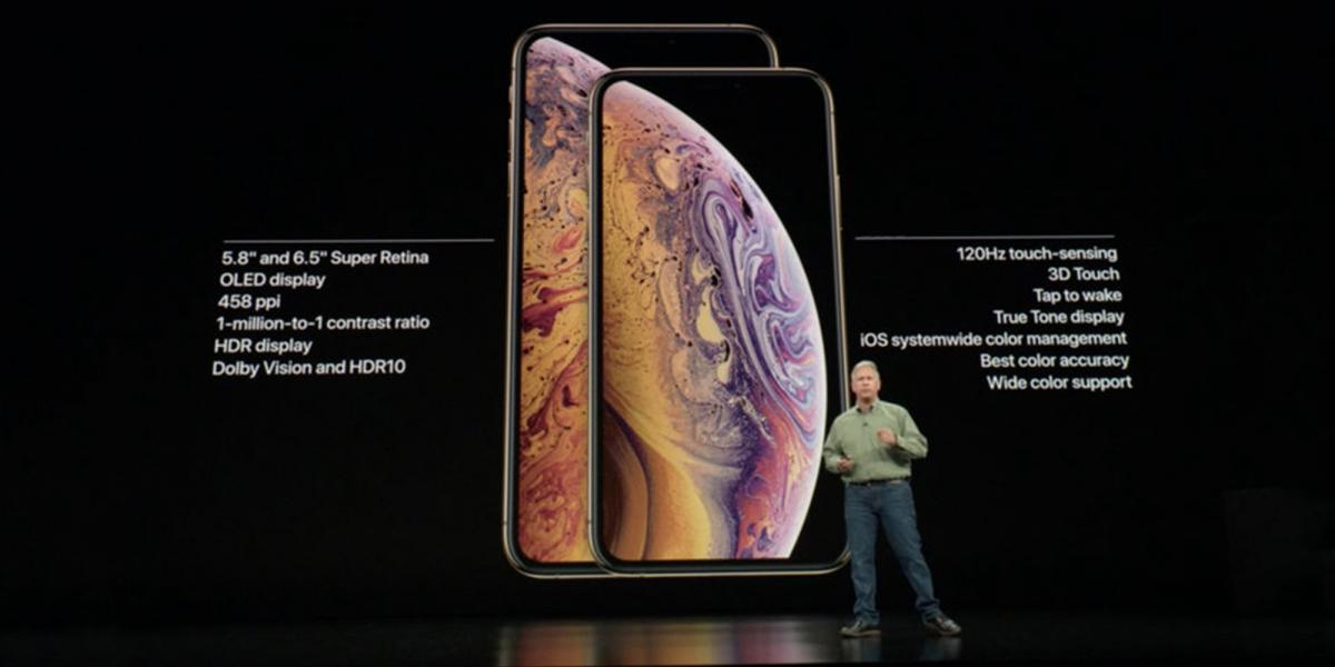Apple unveils 3 new iPhones (XS, XS Max, and XR) and the Apple Watch Series 4