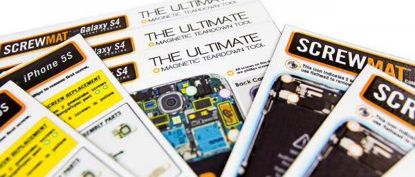 ScrewMats for iPhone 6/6+ Now in Stock!