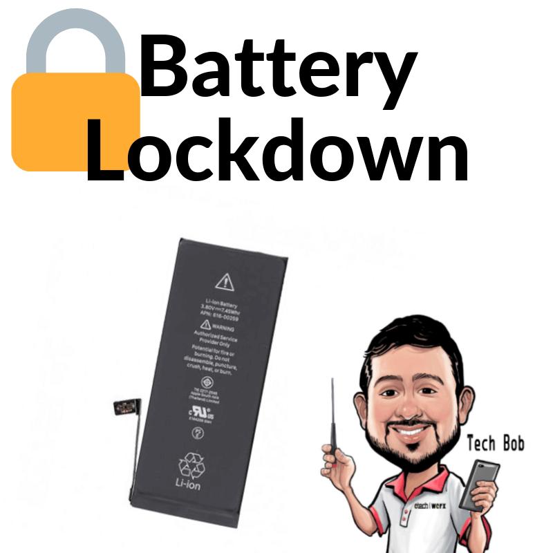 Apple iPhone Battery Lock-down