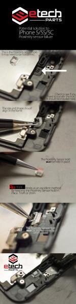 How to Fix iPhone 5/5s/5c Proximity Sensor Issue