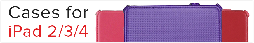 Cases for iPad 2/3/4