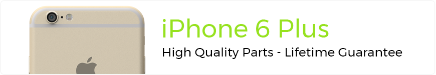 eTech Parts is your source for high quality parts for the iPhone 6 Plus.