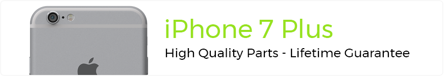 eTech Parts is your source for high quality parts for the iPhone 7 Plus.