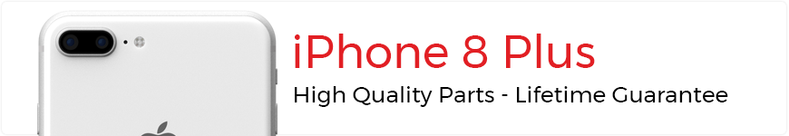 eTech Parts is your source for high quality parts for the iPhone 8 Plus.
